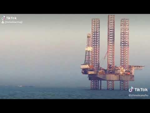 Offshore status video,oilrig
