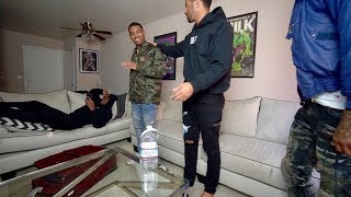 I'M GAY PRANK ON ZIAS AND B-LOU!!! *GONE WRONG* | The Aqua Family
