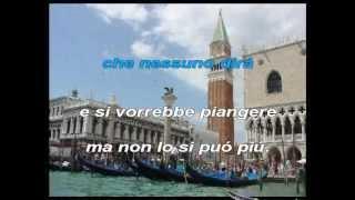 Charles Aznavour - Com'è triste Venezia (karaoke - fair use)