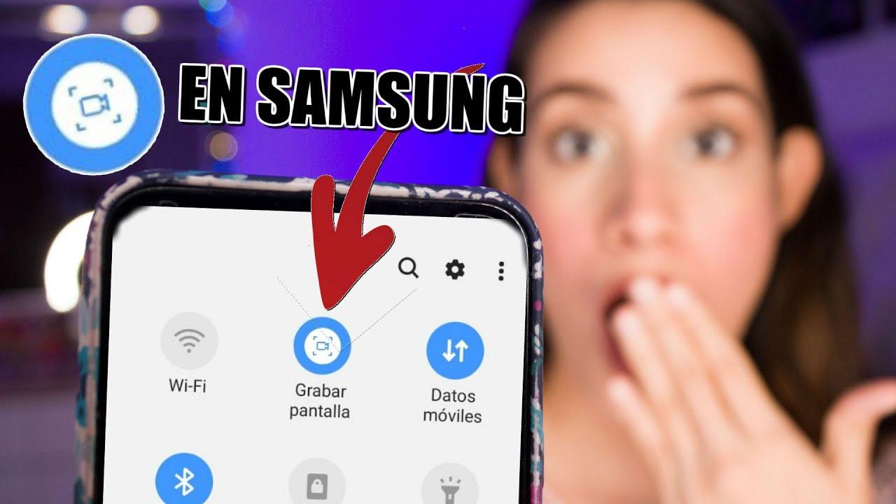 Como Activar La Grabacion De Pantalla En Samsung Youtube