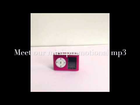 Mini Promotional Mp3 Player