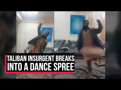 Taliban insurgent dances after capturing an office in Afghanistan | Cobrapost