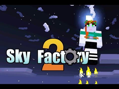 Sky Factory 2 (Modded Minecraft) - 08 - Jetpacks!