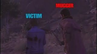 GTA Online: Funny Moments [Mugging yourself]