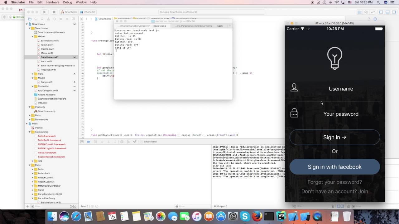 Parse Server IOS SDK Live Query