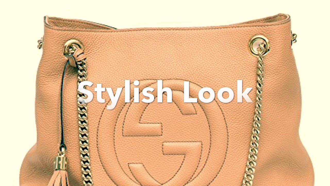 5d9e7c7381b Quick View  Lightweight Stylish Gucci Soho Camelia Leather Shoulder Hand Bag