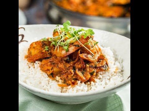 Curry de creveți