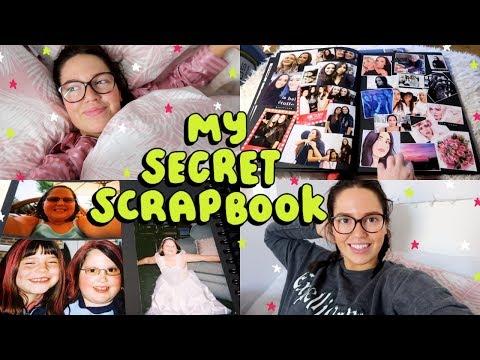 Showing You My SECRET Scrapbook! 😈