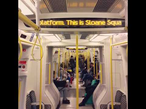 London Underground District Line to South Kensington announcement [Onboard S7 Stock #21458]