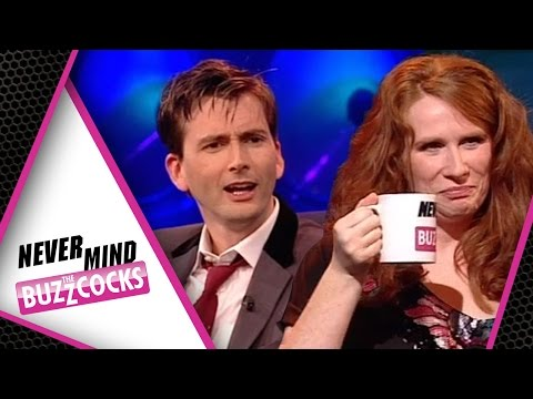 Dr Who Quiz With David Tennant, Catherine Tate & Jo Whiley | Never Mind The Buzzcocks Special