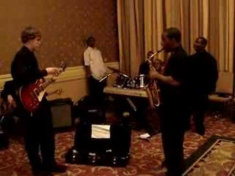 Little Rock Central High Jazz Combo - Rythm Section Groove