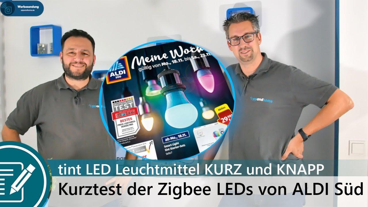 Aldi Tint Led Leuchtmittel Mit Zigbee Kurz Und Knapp Angetestet Aldi Süd Angebot Ab 18 11 2019