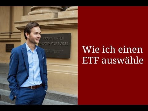 Wie ich einen ETF auswähle | #Video 008