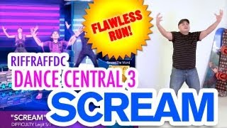 "Dance Central 3 ""Scream"" (Hard) 100% Gold Gameplay"