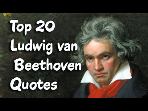 Top 20 Ludwig van Beethoven Quotes (Author of Beethoven's Letters)