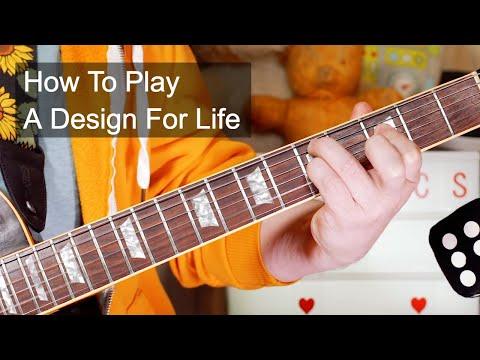 'A Design For Life' Manic Street Preachers Guitar Lesson