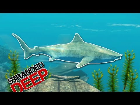 SHARK CIRCLES BOAT! - Stranded Deep Gameplay [Ep 1] - Surviving on an Island!