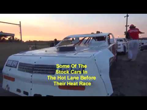 Lakeside Speedway 6 1 18 A&B Mods Stock cars Mains