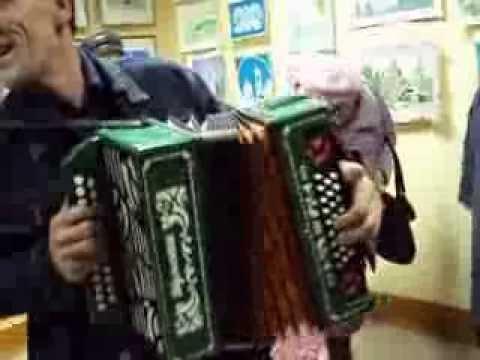 Чувашские наигрыши на гармони. Мариинский Посад. 2011г