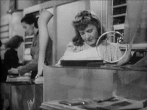 Jean Arthur Devil and Miss Jones_ The -- (Movie Clip) I Never Have Lunch.