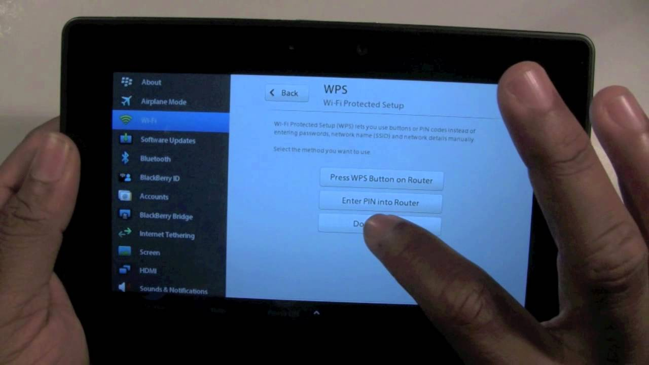 Blackberry playbook how to connect to wifi h2techvideos blackberry playbook how to connect to wifi h2techvideos greentooth Images