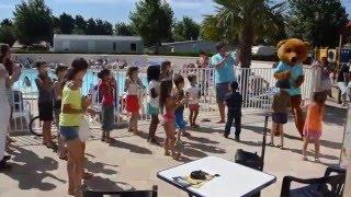 Camping Les alizés Saint hilaire de riez video mini disco saison 2015