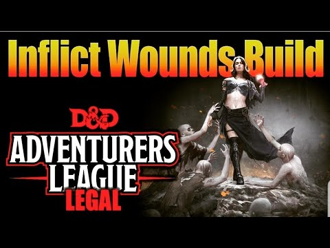 Inflict Wounds Build – D&D 5e Character Builds for
