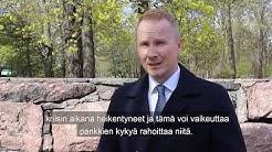 Finnveran Juuso Heinilä: Varaudumme jälleenrakennuksen rahoitukseen