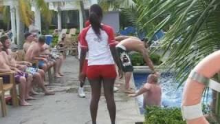 riu montego bay resort jamaica swimming pool and entertainment water sports