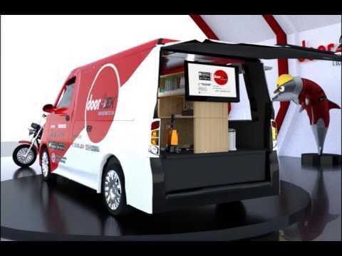 Design Industri Cuci Kendaraan Online/On-Demand DoorJek Indonesia