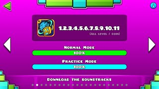 GEOMETRY DASH UNIVERSAL (ALL LEVEL 1~11)