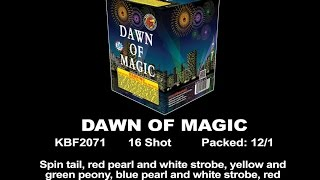 Dawn of Magic - KBF2071 - 200 Gram Cake