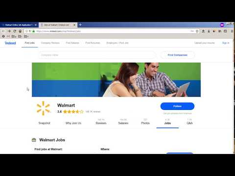 Walmart Job Application Process Online 2019