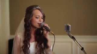 Как красиво поет невеста для родителей!!! Аж мурашки