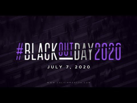 Calvin Martyr | #BLACKOUTDAY2020!!! [Original Video]