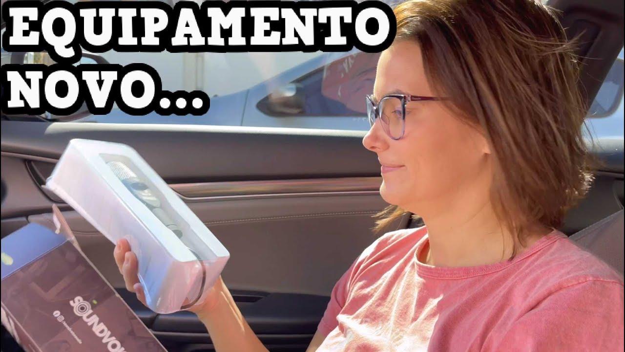 SAIMOS PARA COMPRAR EQUIPAMENTOS DE GRAVAÇÃO NO (VLOG DE FINAL DE SEMANA)