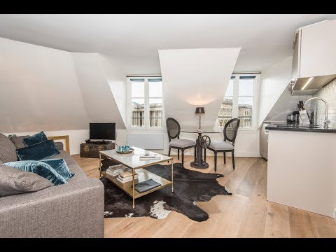 (Ref: 01044) 1-Bedroom furnished apartment for rent on rue d