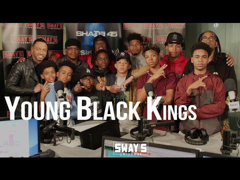 Young Black Kings Lift The Youth Voice From Ghana to Oakland + Perform, Freestyle & Read Poetry Live