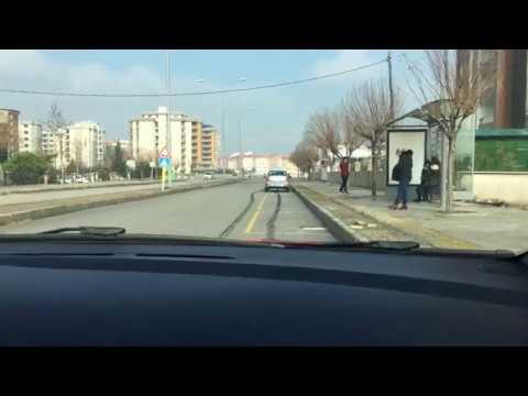 Manisa Ehliyet Direksiyon Sınavı Parkuru