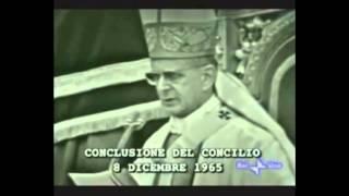 Paolo VI Conclusione del Concilio 8 Dicembre 1965