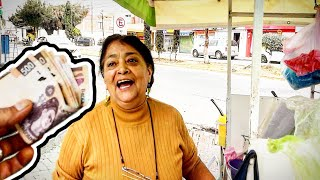 I Went Back!! - Tipping $100 Dollars In MEXICO – ULTIMATE Street Food – Money Sent From SUBSCRIBERS!