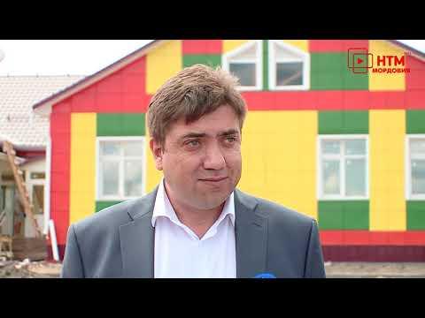 Национальный проект:  Новый детский сад в Барашево