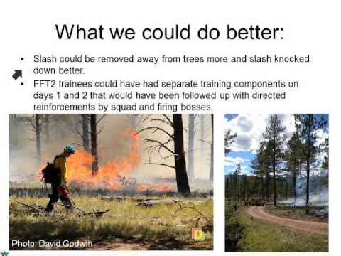 Black Lake Prescribed Burn: Lessons Learned in Capacity Building for Prescribed Fire