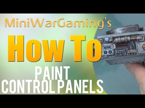 How To:  Paint Control Panels