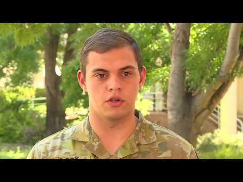 Cyber Security with the Australian Army.