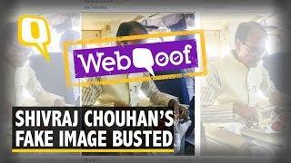No, Madhya Pradesh CM Shivraj Singh Chouhan Did Not Consume Meat | The Quint