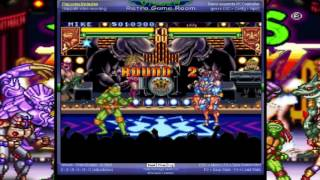 Teenage Mutant Ninja Turtles - Tournament Fighters - -PlayThrough- Vizzed.com GamePlay - User video