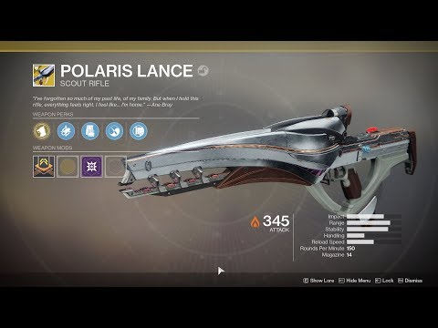 Destiny 2 - Nascent Dawn 4/5 Full Quest Chain (Polaris Lance Exotic Reward)