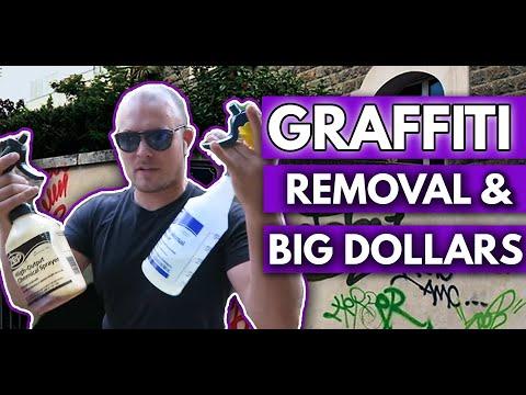 GRAFFITI REMOVAL & BIG DOLLARS - PRESSURE WASHING BUSINESS