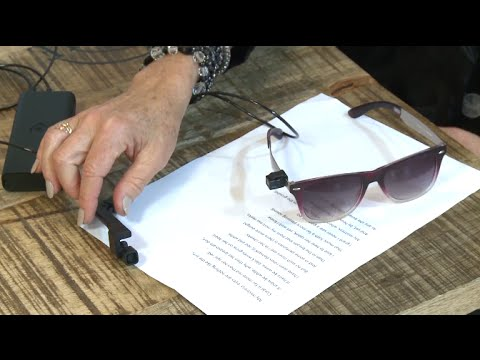 Smart Reading Device for Glasses Opens up New World for Visually Impaired